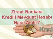 Ziraat Bankası Kredili Mevduat Hesabı(KMH) Nasıl Açılır?