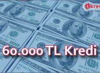 60.000 TL Kredi Veren Bankalar