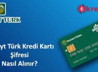 Kuveyt Türk Kredi Kartı Şifre Alma