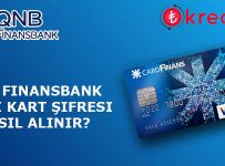 QNB Finansbank Kredi Kartı Şifre Alma