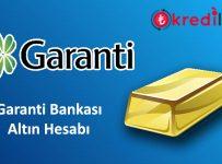 garanti bankası altın hesabı açma, garanti bankası altın hesabı nasıl açılır