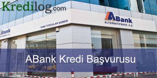 ABank kredi başvurusu