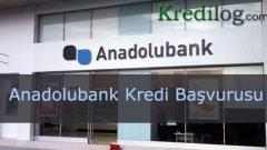 Anadolubank Kredi Başvurusu 2018