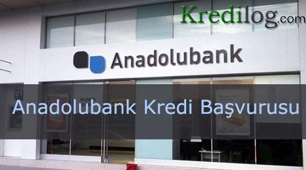 Anadolubank Kredi Başvurusu