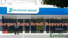 Burgan Bank Kredi Başvurusu 2018