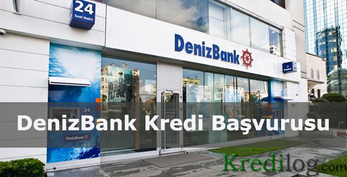 DenizBank Kredi Basvurusu