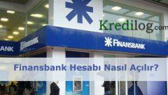 Finansbank Hesabı Nasıl Açılır?