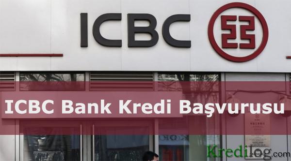ICBC bank kredi basvurusu