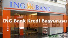 ING Bank Kredi Başvurusu 2018
