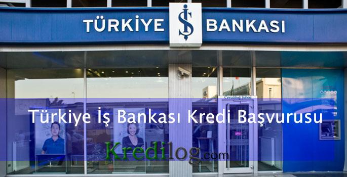 Türkiye iş bankası kredi başvurusu