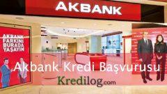 Akbank Kredi Başvurusu 2018