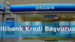 Citibank Kredi Başvurusu 2018