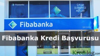 Fibabanka Kredi Başvurusu 2018