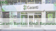 Garanti Bankası Kredi Başvurusu 2018