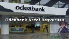 Odeabank Kredi Başvurusu 2018