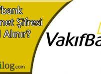 vakifbank internet şifresi nasıl alınır