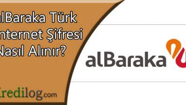 Albaraka Türk İnternet Şifresi Nasıl Alınır?
