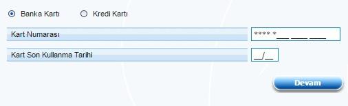 anadolubank kart bilgileri ekranı