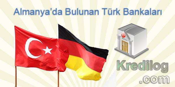 Almanya'da Bulunan Türk Bankaları