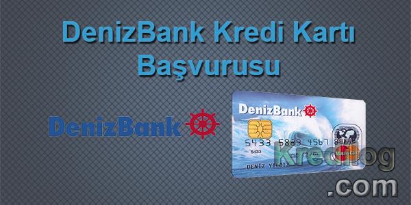 Denizbank Kredi Kartı Başvurusu