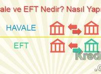 Havale ve EFT Nedir? Nasıl Yapılır?