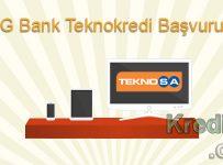ING Bank Teknokredi Başvurusu