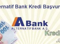 Alternatif Bank Kredi Başvurusu