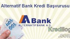 Alternatif Bank Kredi Başvurusu 2018