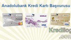 Anadolubank Kredi Kartı Başvurusu 2018