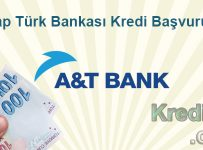 Arap Türk Bankası Kredi Başvurusu