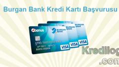 Burgan Bank Kredi Kartı Başvurusu 2018