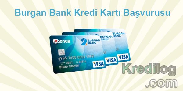 Burgan Bank Kredi Kartı Başvurusu
