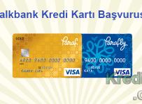 Halkbank Kredi Kartı Başvurusu