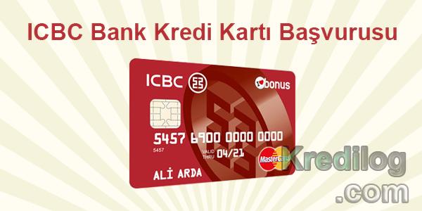 ICBC Bank Kredi Kartı Başvurusu