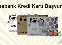 Odeabank Kredi Kartı Başvurusu