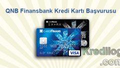 QNB Finansbank Kredi Kartı Başvurusu 2018