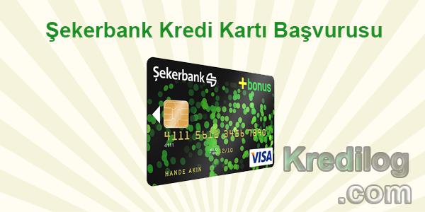 Şekerbank Kredi Kartı Başvurusu