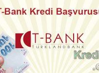 T-Bank Kredi Başvurusu