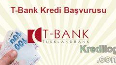 T-Bank Kredi Başvurusu 2018
