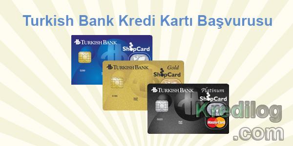 Turkish Bank Kredi Kartı Başvurusu