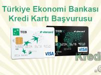 Türkiye Ekonomi Bankası Kredi Kartı Başvurusu