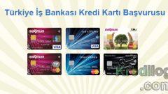 Türkiye İş Bankası Kredi Kartı Başvurusu 2018