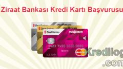 Ziraat Bankası Kredi Kartı Başvurusu 2018