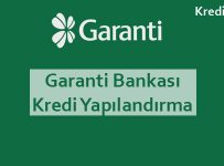 garanti bankası kredi yapılandırma