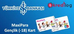 MaxiPara Gençlik (-18) Kart