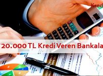 20 bin tl kredi veren bankalar