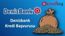 Denizbank Kredi Başvurusu 2018 – SMS ile Kredi