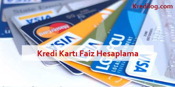 kredi kartı borcu faizi