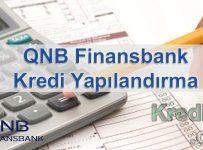 QNB Finansbank Kredi Yapılandırma