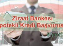 Ziraat Bankası İpotekli Kredi Başvurusu
